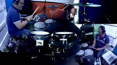 Playing Drums - Jouer de la batterie - Part1