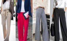 Calça Pantalona: é para moldar a silhueta de qualquer tipo de corpo!