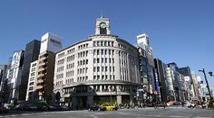 Ginza. Very expensive shopping