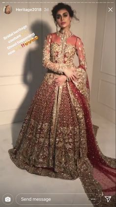 19 Trendy Bridal Saree Red Saris Indian Weddings You can find different rumors about the annals of the marriage … Asian Wedding Dress Pakistani, Indian Bridal Lehenga, Pakistani Wedding Dresses, Indian Wedding Outfits, Pakistani Outfits, Bridal Outfits, Indian Dresses, Indian Outfits, Indian Weddings
