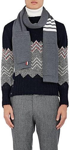THOM BROWNE Navy Rib Knit Sport Blazer.  thombrowne  cloth  blazer ... 49ad75a2f148