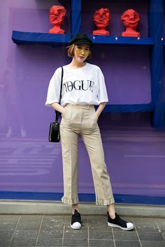 SHOES | #ADIDAS BAG | #EMODA Atsuko, Street Fashion 2017 in Seoul