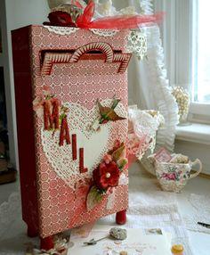 Artful Affirmations: Valentine Mailbox