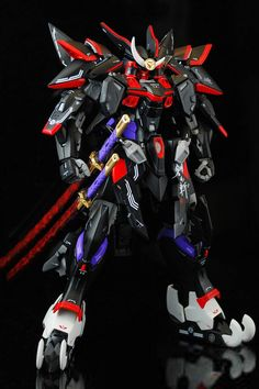MG Blitz Gundam Samurai Custom Build - Gundam Kits Collection News and… Gundam Toys, Gundam Art, Robo Transformers, Gundam Wallpapers, Gundam Mobile Suit, Gundam Custom Build, Arte Cyberpunk, Girls Anime, Manga Girl