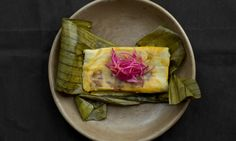 Famed chef, Enrique Olvera, gives tamales, a classic Mexican street food an update with fresh herbs, spices, and three delicious fillings:...