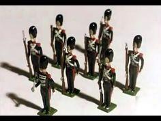 1980 Coleccionar soldados de plomo - Coleccionismo soldaditos de plomo - Tin soldiers - YouTube