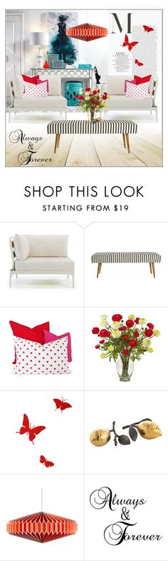 """Untitled #1587"" by frenchfriesblackmg ❤ liked on Polyvore featuring interior, interiors, interior design, home, home decor, interior decorating, Ethimo, House Doctor, Nearly Natural and Diamantini & Domeniconi"