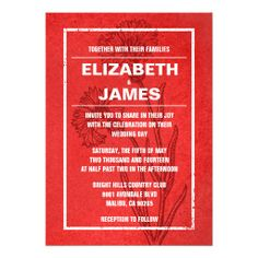 Rustic Vintage Red Wedding Invitations Yes I can say you are on right site we just collected best shopping store that haveReview          	Rustic Vintage Red Wedding Invitations Here a great deal...