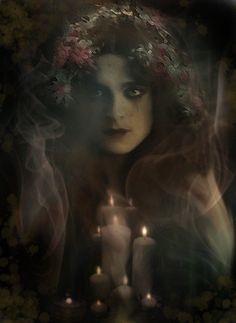 Daughter of Darkness by Bohemiart.deviantart.com on @deviantART