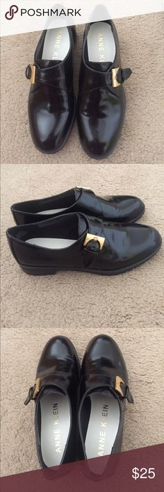 Anne Klein Women's Bara Leather Oxfords Shoes Generally wore it once. Anne Klein Shoes Flats & Loafers