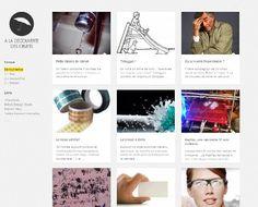"""""""A la découverte des objets"""" est un site créé par Johann Paquelier et Thibaut Deveraux, les fondateurs du studio de design Bricks. Ouvert aux contributions extérieures, celui-ci a pour objectif de raconter l'histoire de divers objets."""