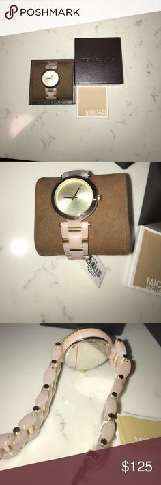 Michael Kors watch 100% authentic Michael Kors pink and gold watch. MK4316 brand new never worn with tags! Michael Kors Accessories Watches