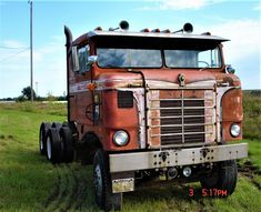 Millions of Semi Trucks Big Rig Trucks, Cool Trucks, Gmc Motorhome, Truck Transport, Cab Over, Kenworth Trucks, Diesel Trucks, Vintage Trucks, Classic Trucks