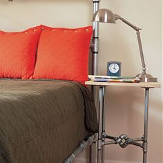 Easy! and for a LOT less than $1225.   ----> Pipeline Pipe Frame Side Table