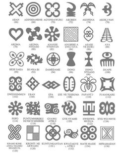 adinkra runen symbole und zeichen. Black Bedroom Furniture Sets. Home Design Ideas