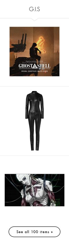 """""""G.I.S"""" by aleksa ❤ liked on Polyvore featuring jumpsuits, jumpsuit, dresses, bodysuits, pants, playsuit, playsuit jumpsuit, belted jumpsuit, romper jumpsuit and long sleeve jumpsuit"""