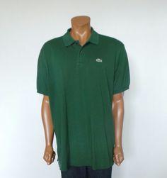 LACOSTE Men's Polo Short Sleeve Casual Shirt Size 8 2XL