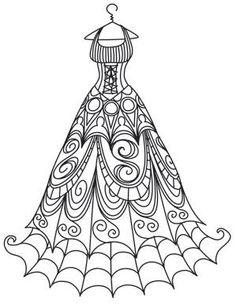 Spooky Delicate Dress From UrbanThreads