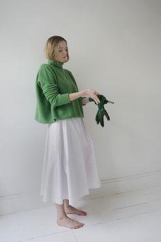 Egg | sofie d'hoore long swing skirt