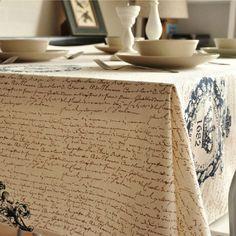 Vintage crown biancheria da tavola panno lato caffè tabella tovagliolo tovaglia shabby chic decorazione della casa/toalha de mesa