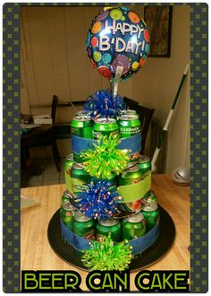 1000 Ideas About Beer Can Cakes On Pinterest Beer