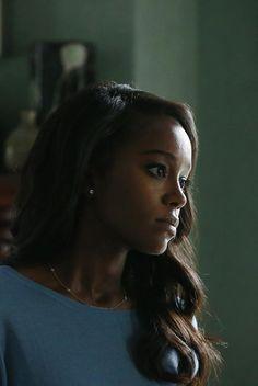 Aja Naomi King as Michaela Pratt in How to Get Away with Murder