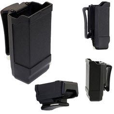 CQC Polymer Magazine Pouch Holder 9MM Black Belt Gun Holster Tactical Military Hunting Gun Accessories Wholesale