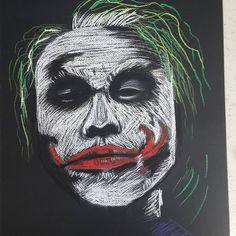 """2 Beğenme, 1 Yorum - Instagram'da peri sanat (@peri.sanat): """"Soft pastel Joker Çalışması..."""""""