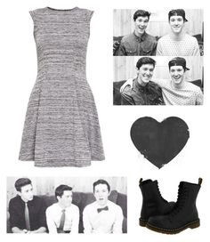 """""""quick set x with Mannntv // Audrey"""" by audrey-panda ❤ liked on Polyvore featuring ADAM, Cameo Rose and Dr. Martens"""