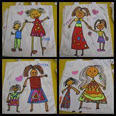 Cadeau fête des mères - Sac en tissu