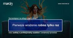 Pierwsze wrażenie robi się tylko raz! Warto pomyśleć o profesjonalnym szablonie aukcji! www.marcinart.pl