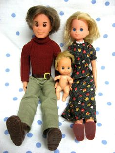 The Sunshine Family - I still have these dolls!!!   (not the bike, though!)