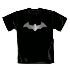 100% cotton, Men's crew neck t-shirt http://www.badsheepboutique.com/batman-modern-logo-foil-t-shirt-235-p.asp
