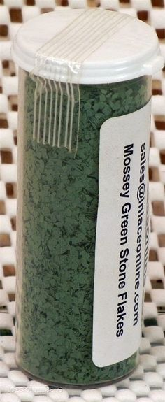 InLace Stone Flakes 1.875 ounces Mossey Green INLC