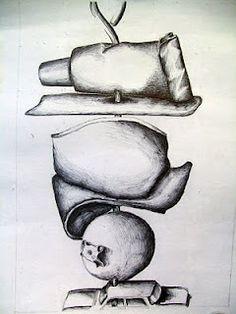 """Skewer"" Self-Portrait Drawing Lesson (Secondary, AP Art)"