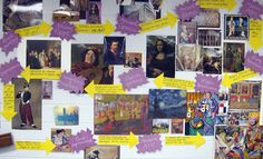 art history bulletin board