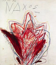 Cy Twombly - A Mediterranean World - Galerie Bastian
