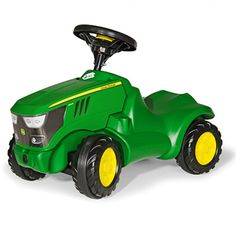 John Deere Rolly Minitrac Foot to Floor - Ride On - Toys & Collectibles | RunGreen.com