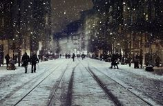 Wish for next year...  To walk downtown with you while its snowing holding hands around christmas time :)