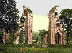 latest addition Glastonbury Abbey