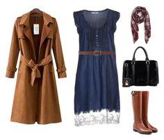 """Moda Evangélica inverno - outono."" by gesiane-saves on Polyvore featuring moda, LIU•JO, Burberry, Dorothy Perkins, Chicnova Fashion e Sole Society"