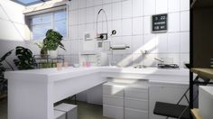 - i always just pin things that look like they are for ! I'm not sure if anything works, sorry in advance! The Sims 4 Pc, Sims Four, Sims Cc, Sims 4 Kitchen, Kitchen And Bath, Compact Kitchen, Sims 4 Seasons, Muebles Sims 4 Cc, Sims 4 Cc Kids Clothing