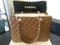 Chanel GST in Toffee Brown..drool~~
