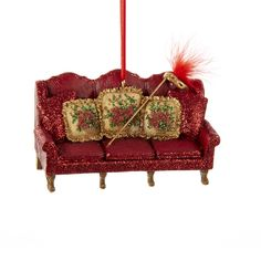 """4.25"""" #VENETIAN #COUCH ORNAMENT"""