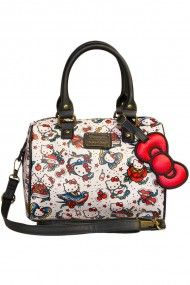 c0769a6bbb17 Hello Kitty Tattoo Pebble Duffle Hello Kitty Bag