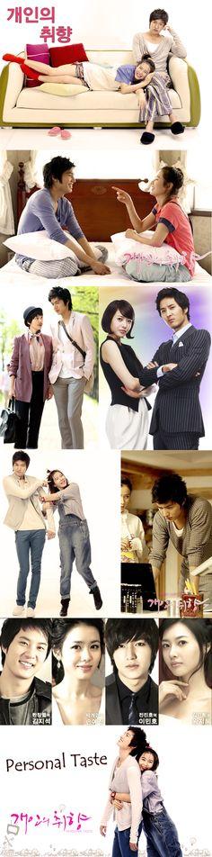 Personal Taste - 개인의 취향 / Kaeinui Chwihyang - Kdrama 2010 - 16 episodes - Lee Min Ho & Son Ye Jin / Kim Ji-seok / Wang Ji-hye