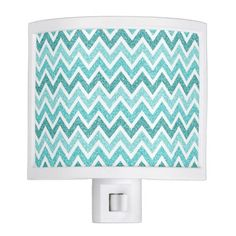 sparkle & glitter chevron pattern Night Light