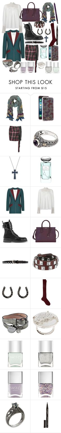 """unusual cosmic love"" by nothingisnormal ❤ liked on Polyvore featuring Zadig & Voltaire, Kate Spade, Magda Butrym, NOVICA, Bloomingdale's, By Terry, Hebe Studio, Ann Demeulemeester, Orciani and Rebecca Minkoff"