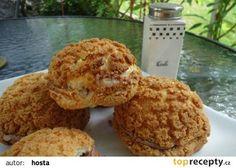Větrníky ze dvou těst recept - TopRecepty.cz Muffin, Chicken, Meat, Breakfast, Food, Hampers, Fine Dining, Breakfast Cafe, Muffins