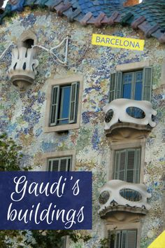 My favorite spot in Barcelona is probably Antoni Gaudi's Casa Batllo building. Just couldn't wait to get there, to look at it up close. Could not even believe that it actually is that colorful in person. And it was more than I could have ever expected!  It was kind of a venture to get into those Gaudi's buildings, Casa Batllo and Casa Mila. Stood in line for more than an hour in front of both, waiting to get in...